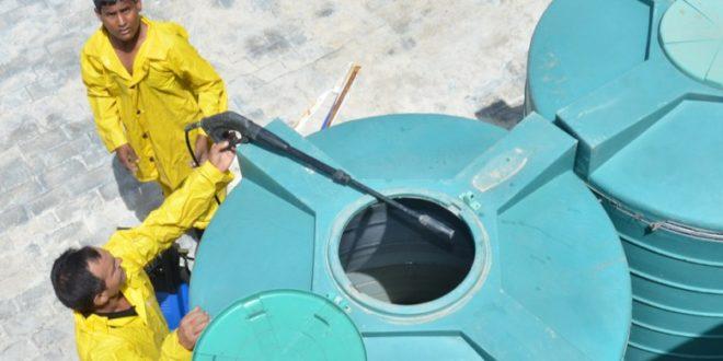 شركة تنظيف خزانات بالحناكية